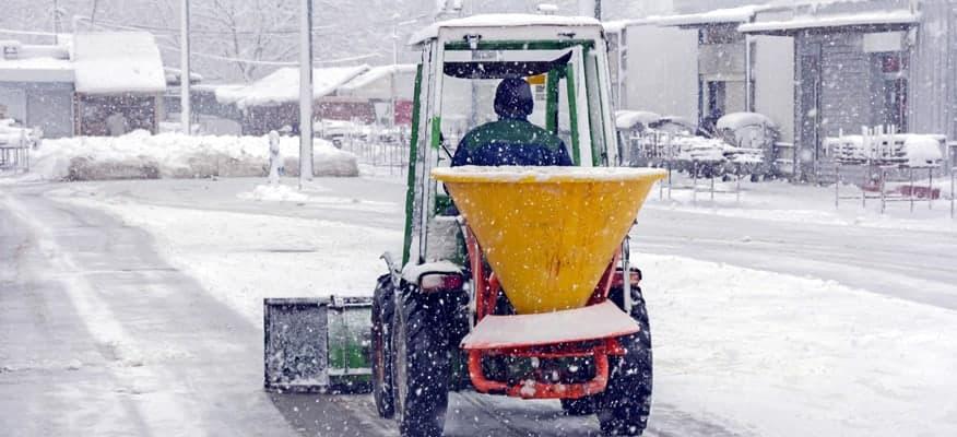snow & ice salt treatment