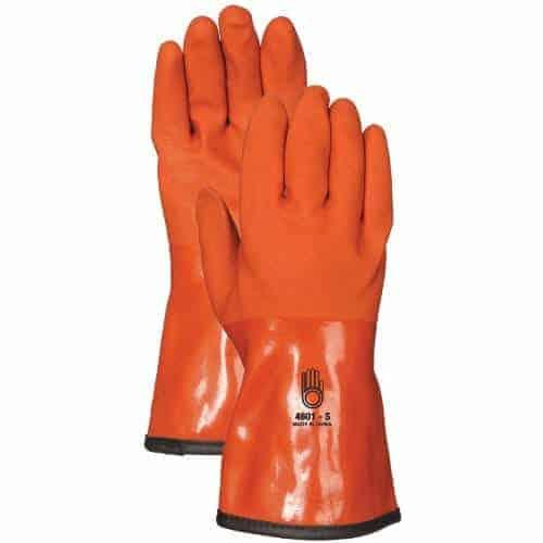 Winter Work Gloves - PVC Gloves