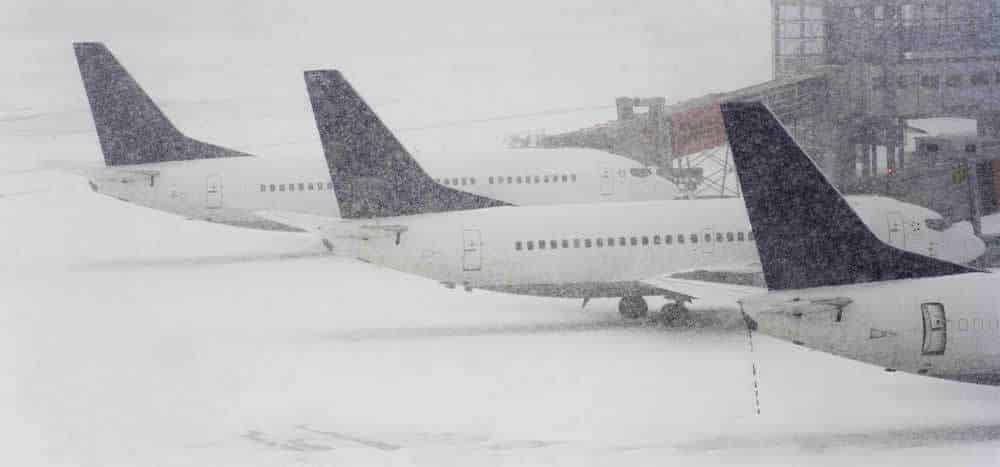 sodium acetate ice melt for airport snow removal